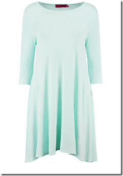 mint green dress boohoo