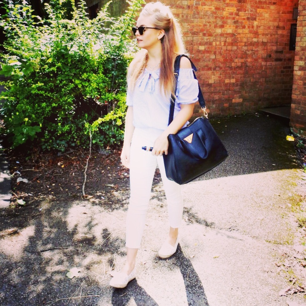 asos white jeans
