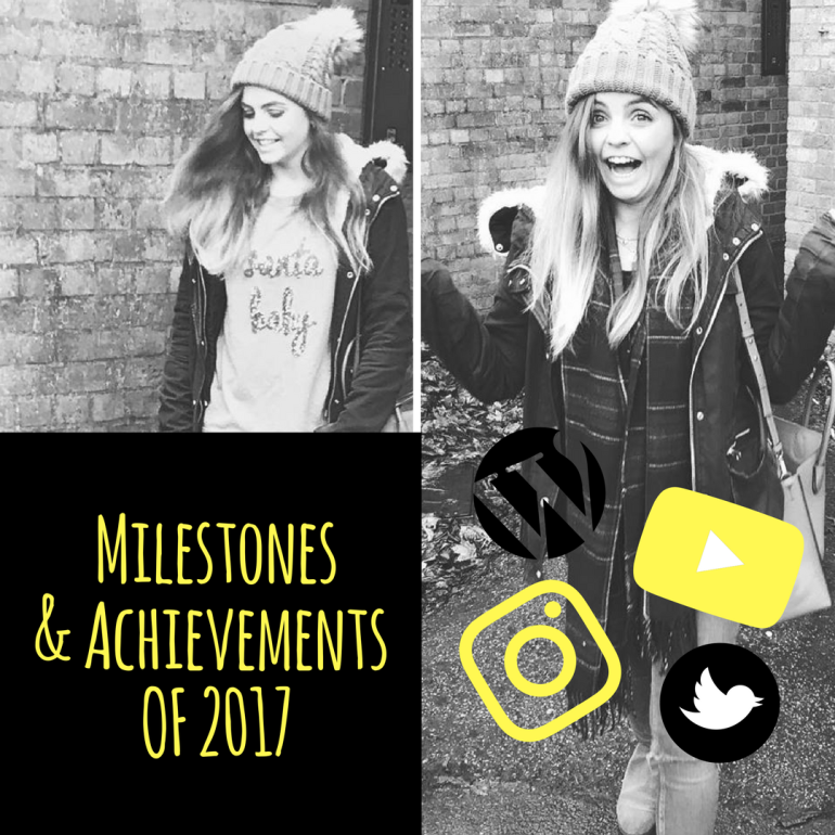 My Achievements for 2017