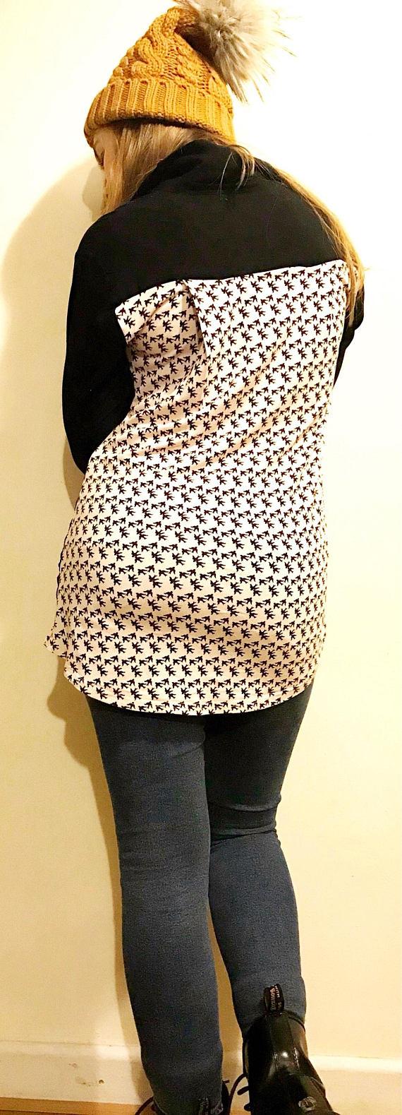 Bird Print Shirt - My Fashion Faux Pas