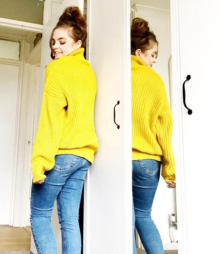 Mustard Yellow Chunky Knit Jumper