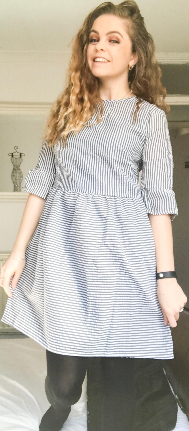 Striped dress - Zaful
